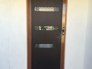 Prowler Proof Security Screen Hinge Door