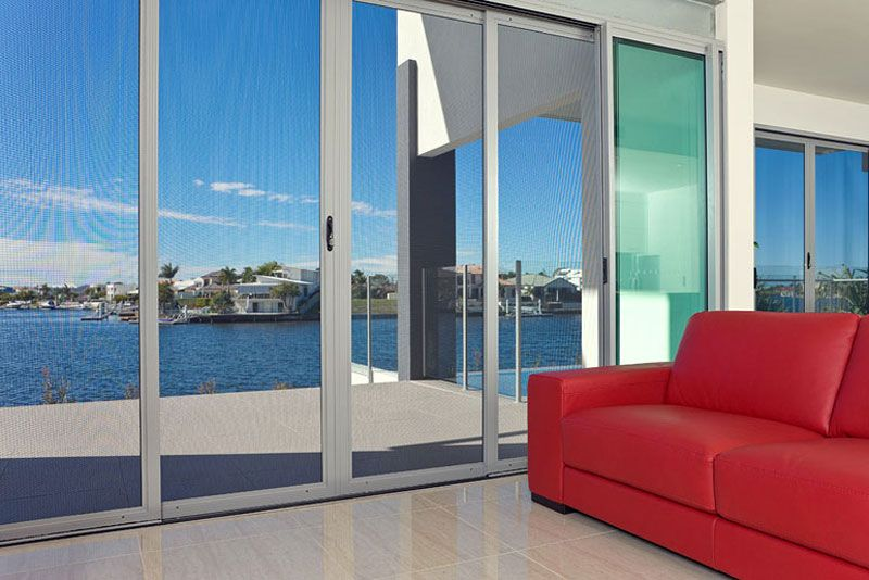 Prowler Proof ForceField Security Screen Doors