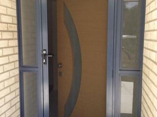 Prowler Proof Front Entrance Security Hinge Door