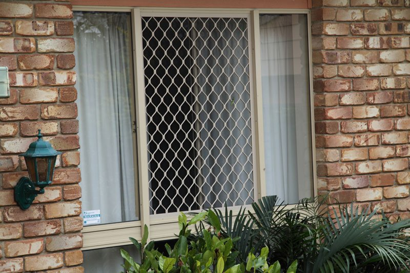Prowler Proof Large Diamond Security Screen Window