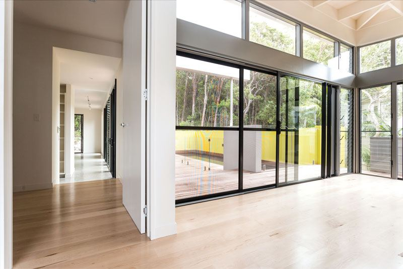 Prowler Proof Security Screen Sliding Door on Sunshine Coast