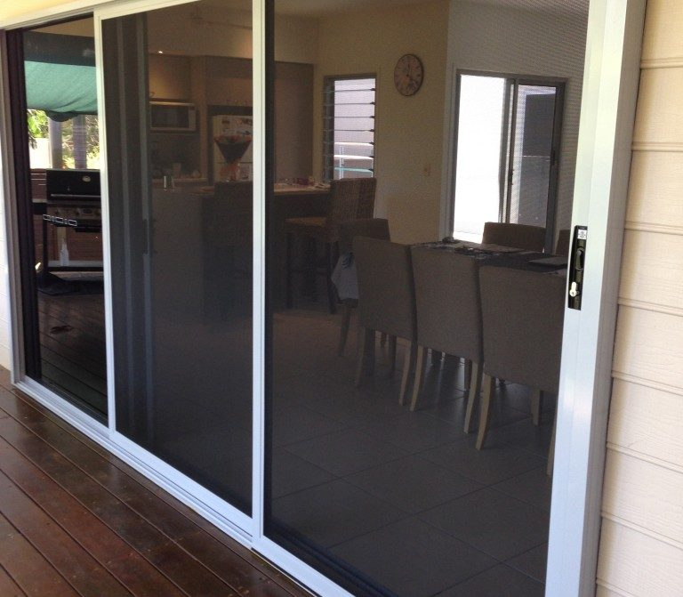 Prowler Proof Security Screen Sliding Doors